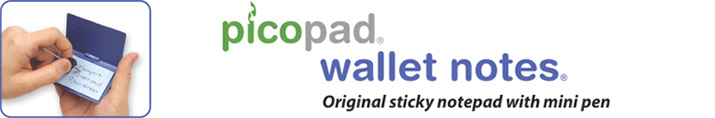 PicoPad Wallet Notes